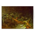 Verduras de Vincent van Gogh Felicitación