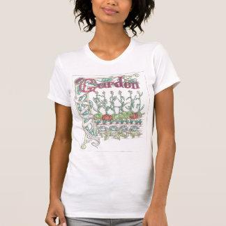 Verduras del jardín camiseta