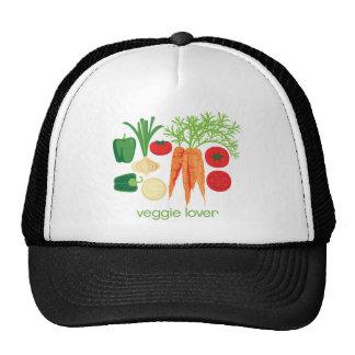 Verduras frescas mezcladas del amante del Veggie Gorra