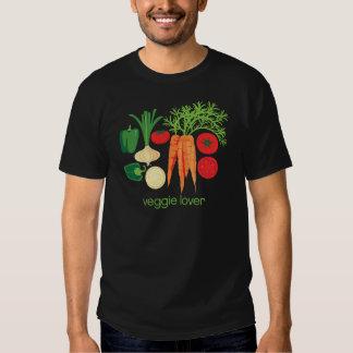 Verduras frescas mezcladas del amante del Veggie Playera