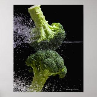 Verduras frescas y higiene alimenticia posters