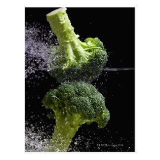 Verduras frescas y higiene alimenticia tarjetas postales