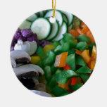 Verduras mezcladas agradable tajadas ornamento para reyes magos