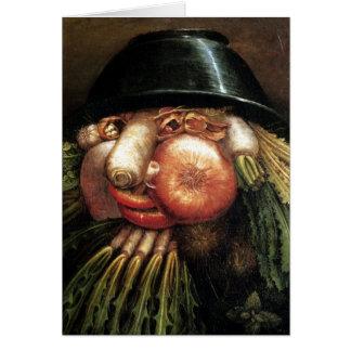 Verduras Tarjeta De Felicitación