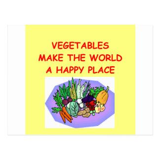 verduras postal