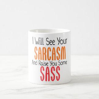 Veré su sarcasmo y le criaré un poco de Sass Tazas De Café