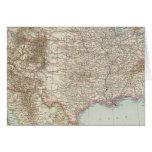 Vereinigte Staaten von Nordamerika - mapa de los E Felicitacion