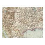 Vereinigte Staaten von Nordamerika - mapa de los E Tarjeta Postal