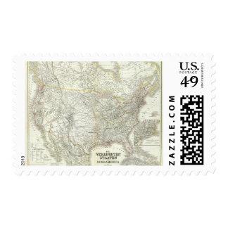 Vereinigten Staaten von N America - North US Postage Stamps