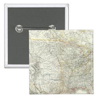 Vereinigten Staaten von Norteamérica - los E.E.U.U Pin Cuadrada 5 Cm