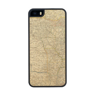 Vereinigten Staaten von Norteamérica - los Funda De Arce Carved® Para iPhone 5 Slim