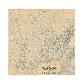 Vereinigten Staaten von Norteamérica - los Posavasos De Madera