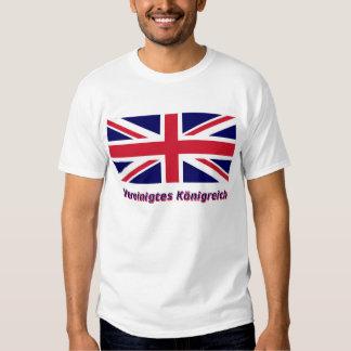 Vereinigtes Königreich Flagge mit Namen Tee Shirt