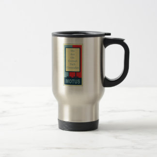 vereteno's: CORRECT PATH COMRADES Travel Mug