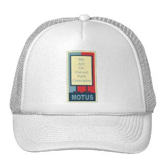 vereteno's: CORRECT PATH COMRADES Trucker Hat