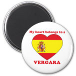 Vergara Fridge Magnet