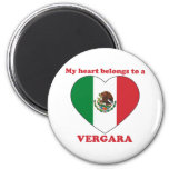 Vergara Fridge Magnets