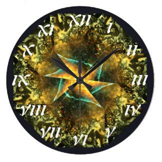 Verge Spiral Clock (Roman Numerals)