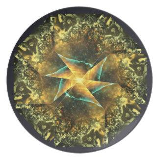 Verge Spiral Pattern Plate