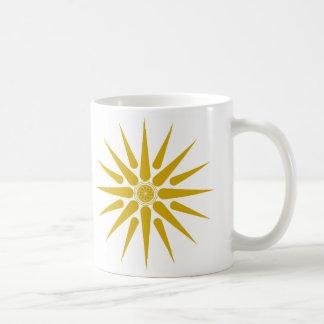 VERGINA SUN COFFEE MUG