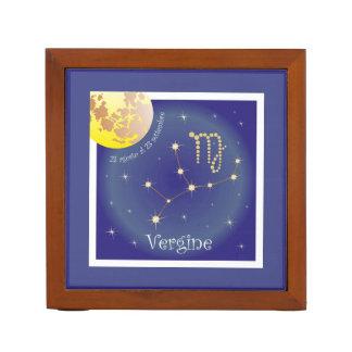 Vergine 23 agosto Al of 23 settembre pin owners Desk Organizers