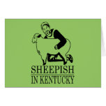 Vergonzoso en Kentucky Tarjeta