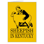 Vergonzoso en Kentucky Tarjeton