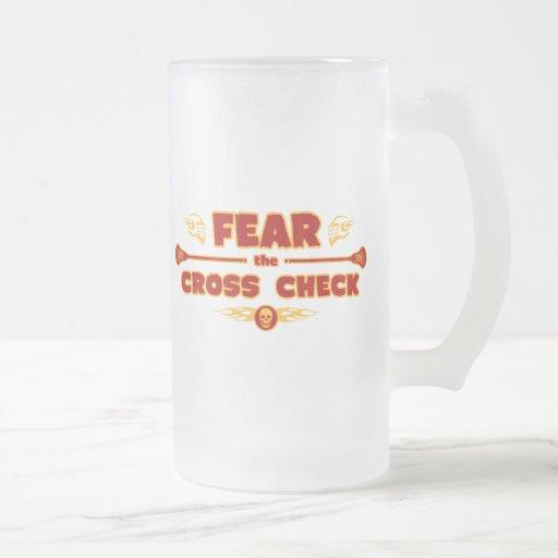 Verificación cruzada taza de café