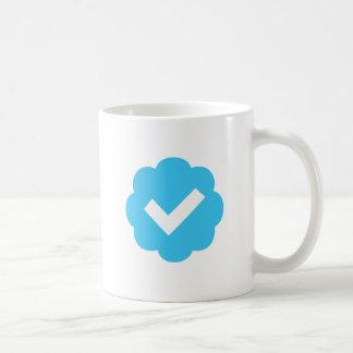 Verified Account Symbol Classic White Coffee Mug