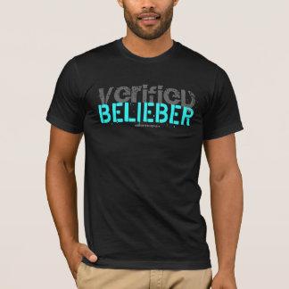 """""""VERIFIED BELIEBER"""" Custom Destructed T-Shirt"""