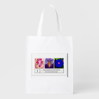 Verified Official Ishah Laurah Photography Grocery Bag