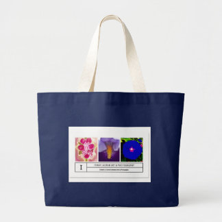 Verified Official Ishah Laurah Photography Large Tote Bag
