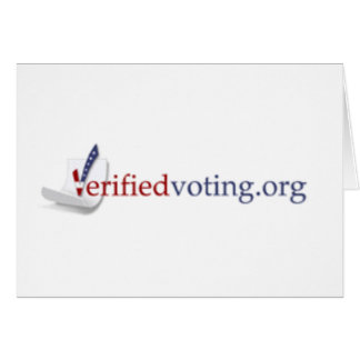 Verified Voting mark the date card