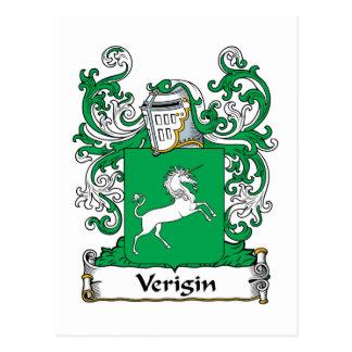 Verigin Family Crest Postcard
