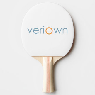 Veriown Red Rubber Back Ping Pong Paddle