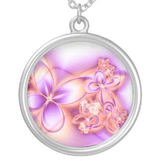Veris Laeta Facies Round Pendant Necklace