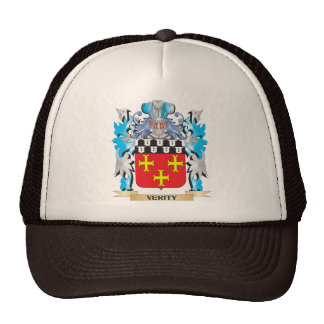 Verity Coat of Arms - Family Crest Trucker Hat