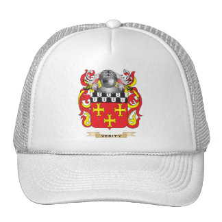 Verity Family Crest (Coat of Arms) Trucker Hat