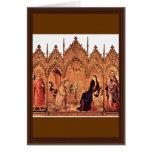 Verkündigungstriptychon Middle Panel: Annunciation Cards