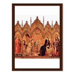 Verkündigungstriptychon Middle Panel: Annunciation Postcard