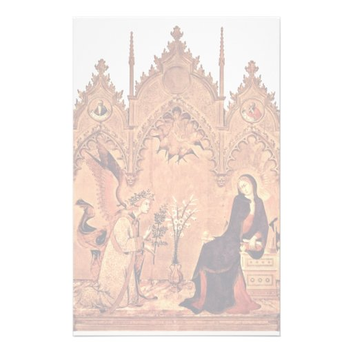 Verkündigungstriptychon Middle Panel: Annunciation Stationery Paper