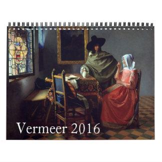 Vermeer 2016 calendar