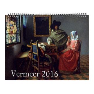Vermeer 2016 Huge Calendar