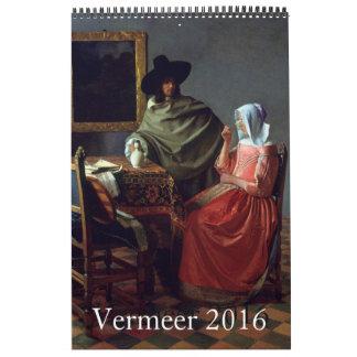 Vermeer 2016 Single Page Calendar