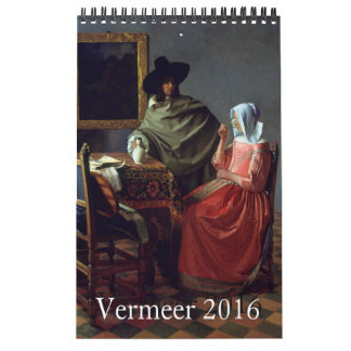 Vermeer 2016 Small Calendar
