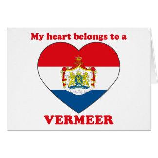 Vermeer Greeting Card
