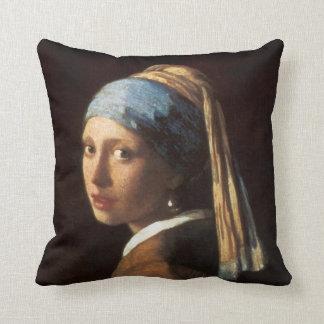 """Vermeer """"chica con la almohada del pendiente de la"""