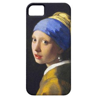 ~ Vermeer del pendiente de la perla del chica w iPhone 5 Case-Mate Carcasas