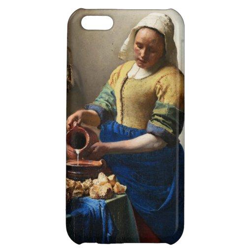 Vermeer el caso del iPhone 5 de la lechera
