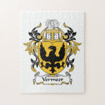 Vermeer Family Crest Jigsaw Puzzles